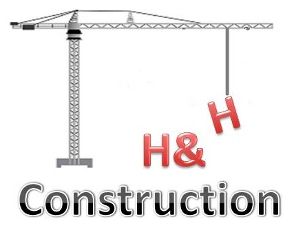 H and H Construction Logo